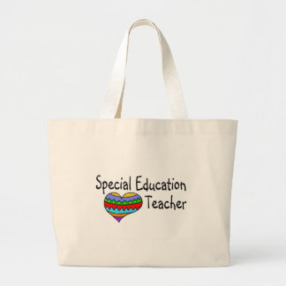 Special Education Teacher Large Tote Bag
