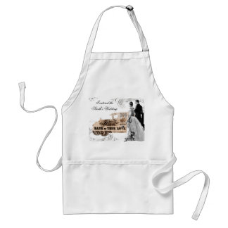 special Event, I catered the Smith's Wedding Aprons