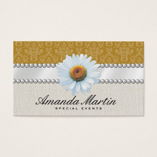 Special Events | Classic Yellow Business Card
