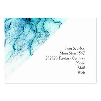special fireworks, aqua. business card