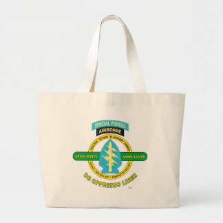 SPECIAL FORCES AIRBORNE PRODUCTS TOTE BAG