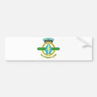 SPECIAL FORCES AIRBORNE PRODUCTS BUMPER STICKER