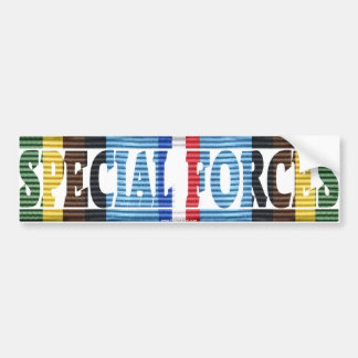 Special Forces, Armed Forces Exped. Medal Sticker Bumper Sticker