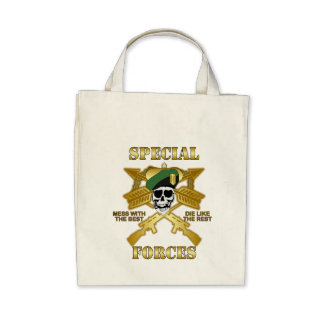 Special Forces Canvas Bags