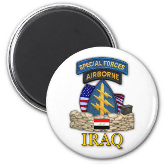 special forces green berets iraq war veterans Magn Magnet