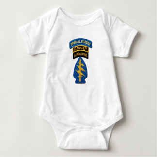 Special Forces Green Berets Rangers LRRPS Patch Baby Bodysuit