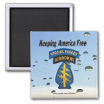 special forces  green berets veterans Magnet Refrigerator Magnets