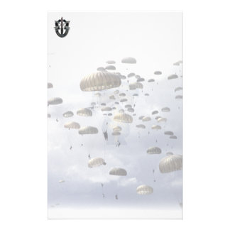 Special Forces Green berets wife mom Stationery