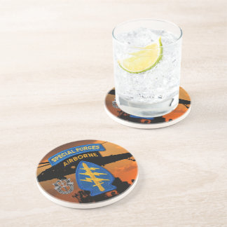 Special Forces Group Green Berets SF SFG Vets Coaster