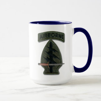 Special Forces Group Green Berets SFG SF Vets LRRP Mug