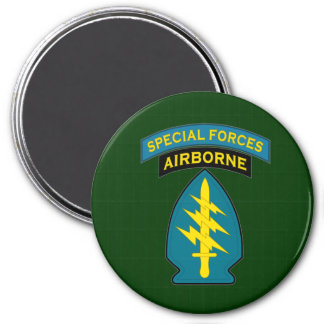 Special Forces MGR3S 7.5 Cm Round Magnet