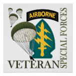 Special Forces Veteran - Airborne
