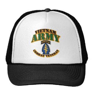 Special Forces Vietnam - Combat Vet. Cap