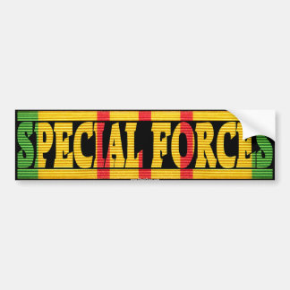 Special Forces Vietnam Service Ribbon Sticker Bumper Sticker