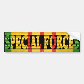 Special Forces Vietnam Service Ribbon Sticker Bumper Sticker