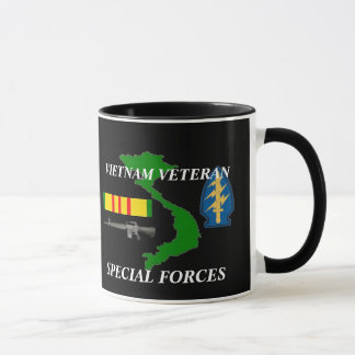 Special Forces Vietnam Veteran Coffee Mugs