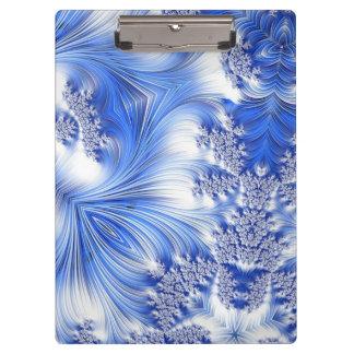 Special Fractal 17,blue Clipboard
