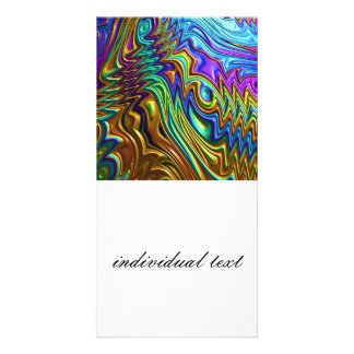 Special Fractal 22 Photo Greeting Card