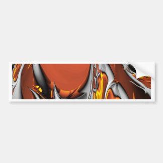 Special Fractal 24 terra Bumper Sticker
