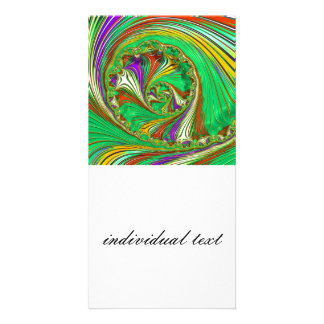 Special Fractal, 29 Personalized Photo Card
