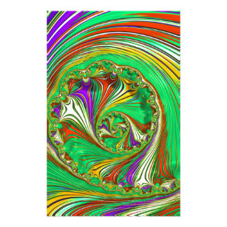 Special Fractal 29 Personalized Stationery