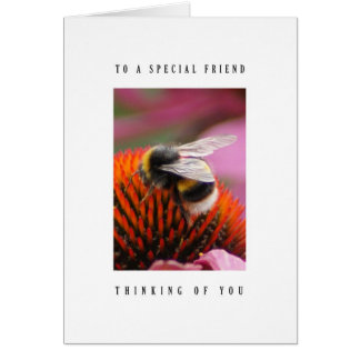 Special friend - Bumblebee Card