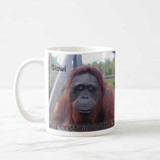 Special Girls - Female Orangutans OFI Siwi, Hockey Coffee Mug