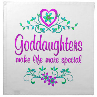 Special Goddaughter Printed Napkins