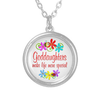 Special Goddaughter Silver Plated Necklace