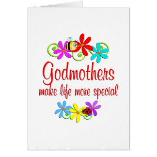 Special Godmother Greeting Cards