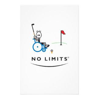 Special Golf Boy Stationery Design