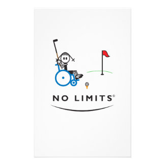 Special Golf Girl Personalized Stationery