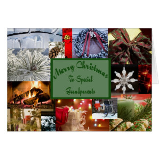 Special grandparents Christmas Greeting Card