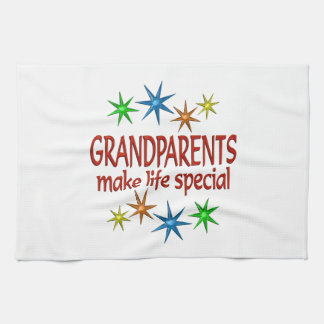 Special Grandparents Tea Towel