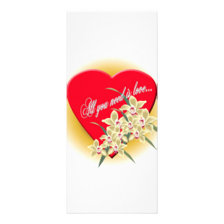 special heart for all the special moments rack card