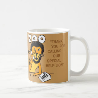 Special Help Lion Coffee Mug