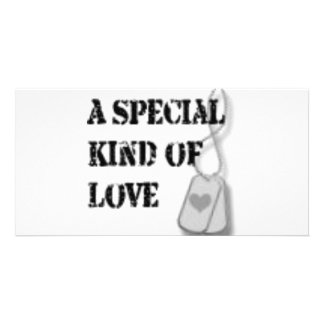 Special kind of love picture card