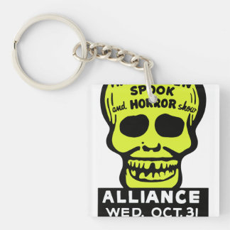 Special Late Spook and Horror Show Double-Sided Square Acrylic Key Ring