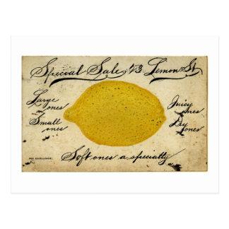 Special Lemons -1897 Postcard
