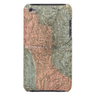 Special Map of Giant Mountains Barely There iPod Cover