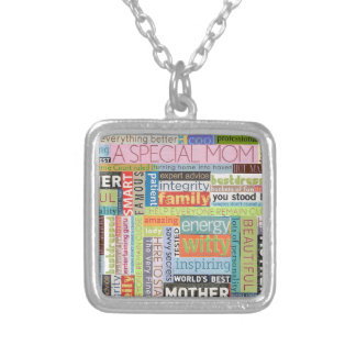 Special Mom Square Pendant Necklace