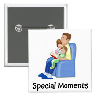 Special Moments 15 Cm Square Badge