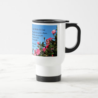 Special Mother-in-law Stainless Steel Travel Mug