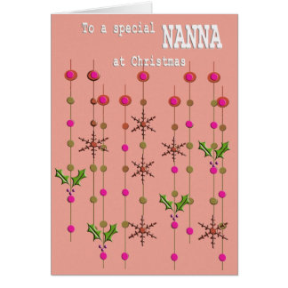 Special Nanna at Christmas Card