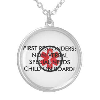 SPECIAL NEEDS CHILD ON BOARD NECKLACE
