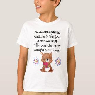 Special Needs Kids Inspirational, Heart Songs T-Shirt