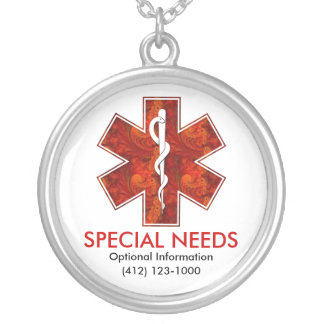 Special Needs Medical Necklace Customizable