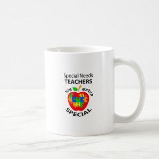 SPECIAL NEEDS TEACHER BASIC WHITE MUG