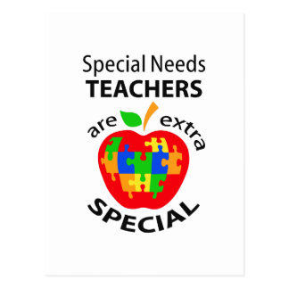 SPECIAL NEEDS TEACHER POSTCARD