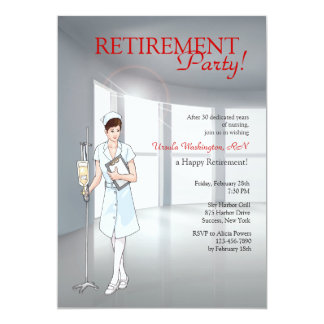 Special Nurse Retirement Party Invitation